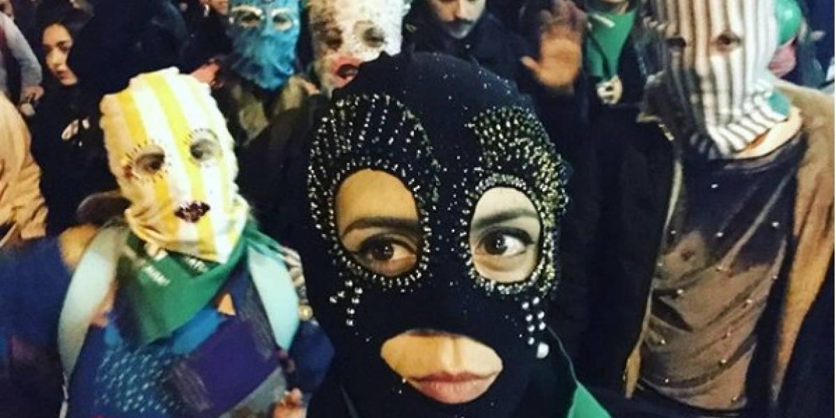 La arenga de Jani Dueñas en la marcha por el aborto libre que fue denunciada y borrada por Instagram