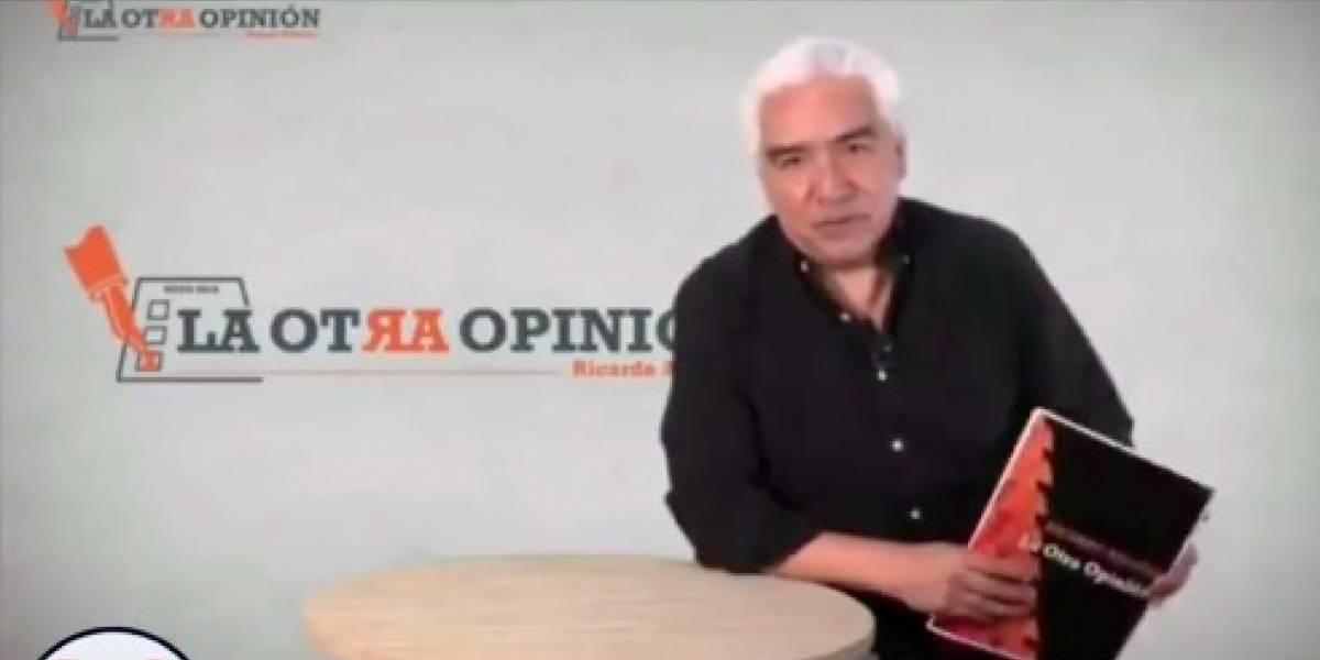 VIDEO: Ricardo Alemán responsabiliza a López Obrador si le pasa algo