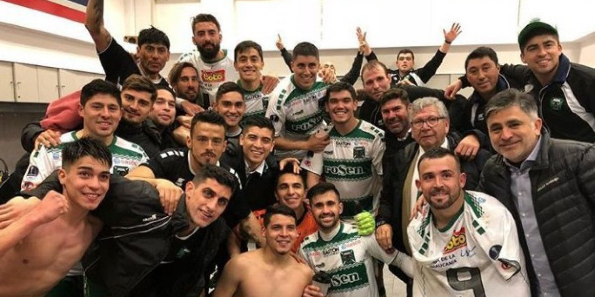 Lucas Campana aprovechó la victoria de Temuco para vivir un clásico aparte ante San Lorenzo