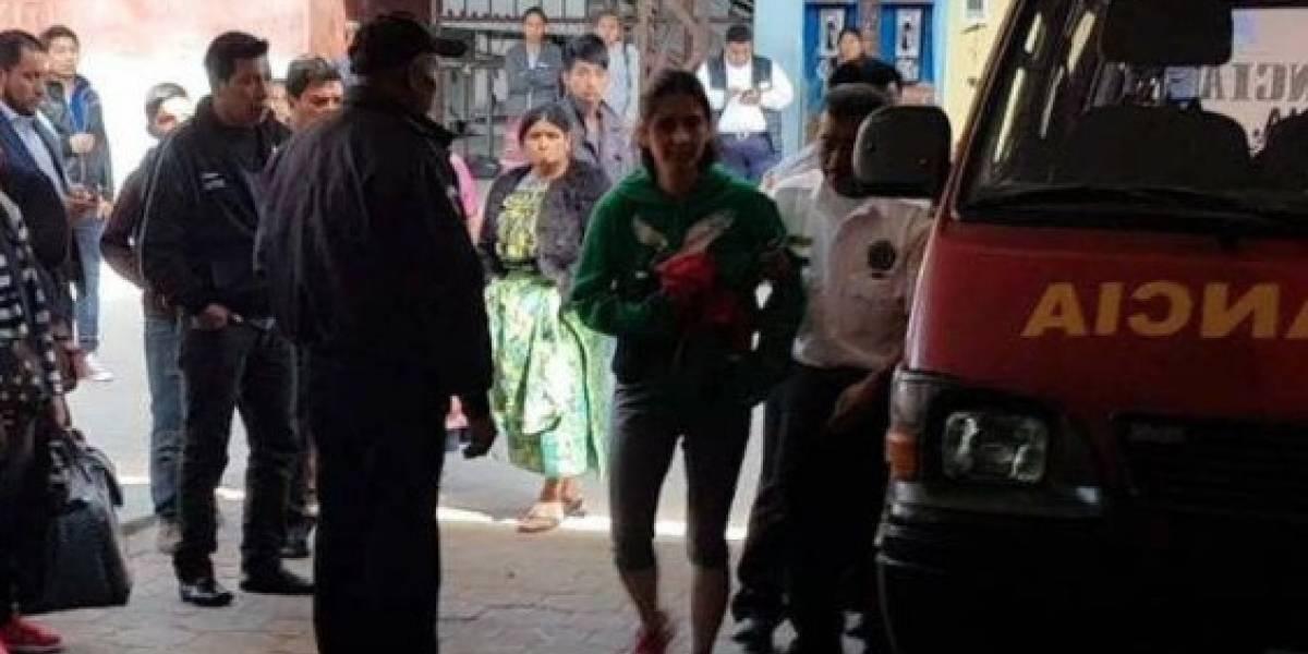 Mujer caminaba desnuda en Quetzaltenango para pedir perdón por sus pecados