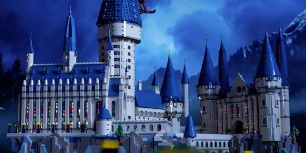 Castelo de Hogwarts com mais de 6 mil peças será vendido pela Lego