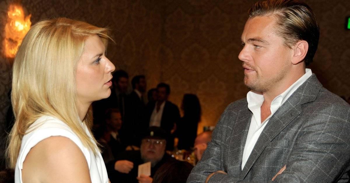 Claire Danes e Leonardo DiCaprio