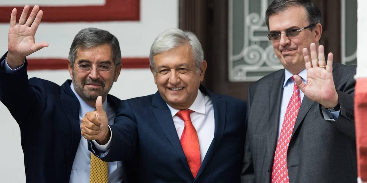 Invita AMLO a Juan Ramón de la Fuente a representar a México en la ONU