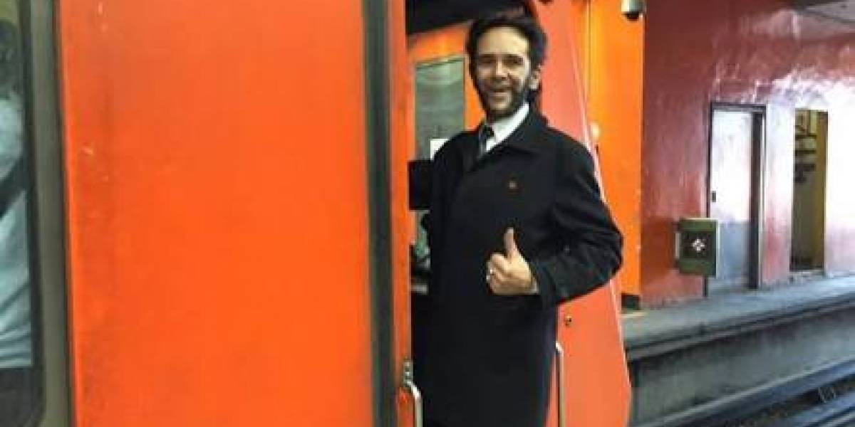 """Se roba los corazones en México: """"Wolverine"""" se ha convertido en el conductor más amable del metro"""