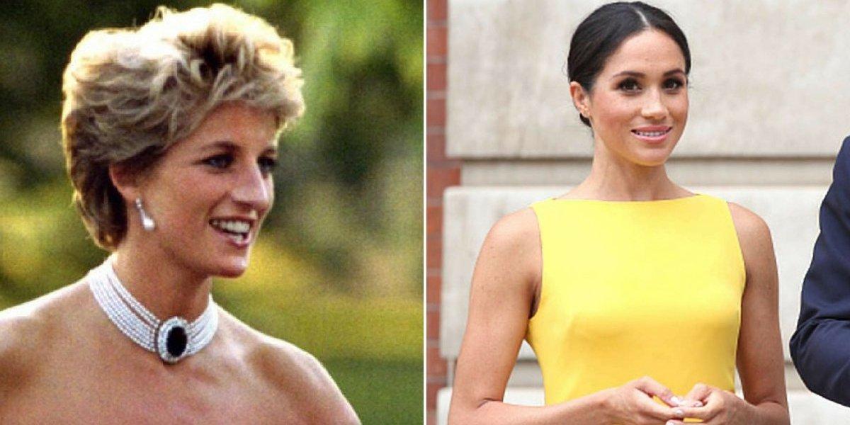Meghan Markle queria usar traje parecido ao de princesa Diana em evento
