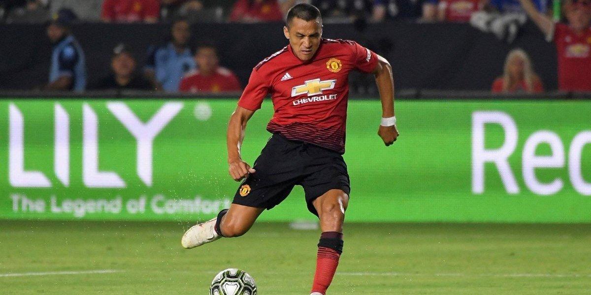 """Alexis no se esconde en el United: """"Tengo experiencia de sobra, vine acá a ganar todo"""""""