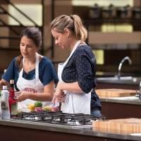 Em dupla com Katleen, cozinheira se aventurou pela cozinha árabe