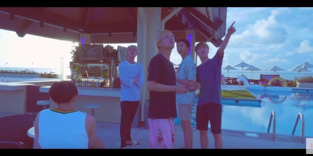 "Novidade: Grupo BTS libera vídeo ""G.C.F in Saipan"""
