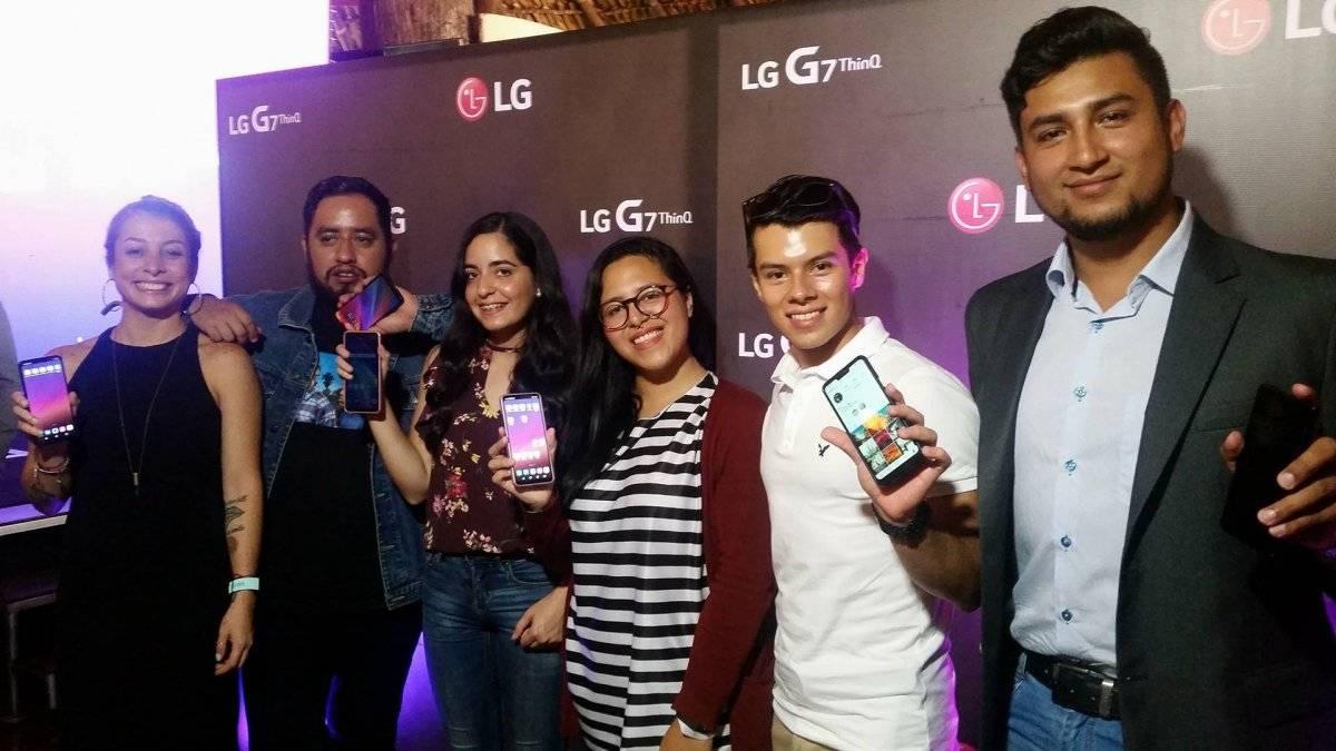 LG Electroncis e Inguat presentaron la campaña #LGGuate7. Foto: David Lepe