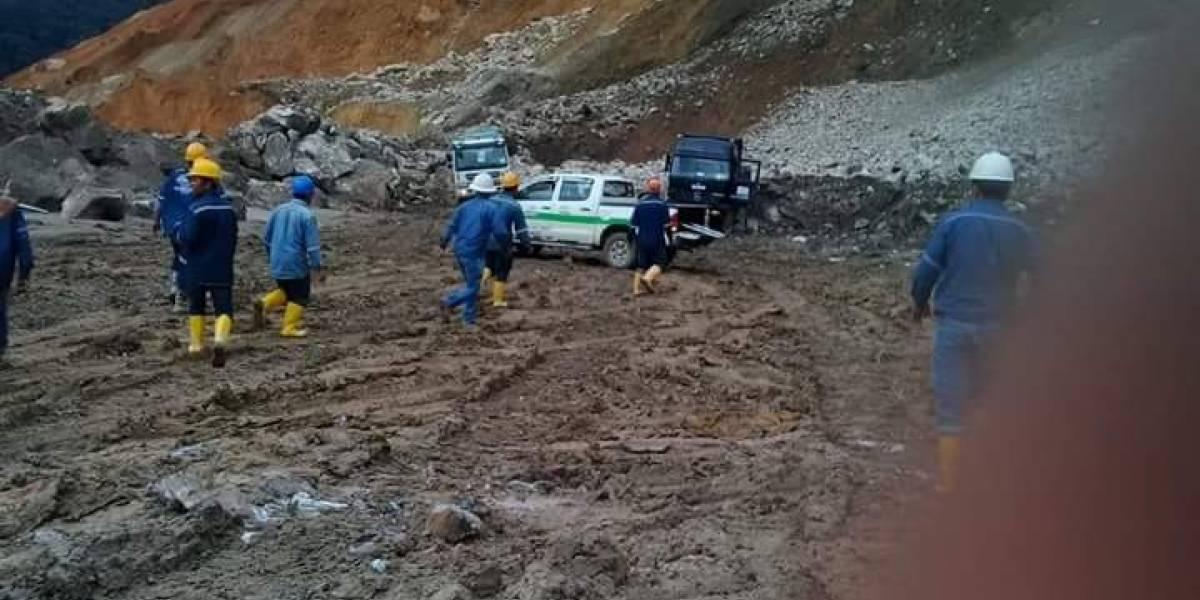 Conductor de volqueta muere durante proyecto minero en Zamora Chinchipe