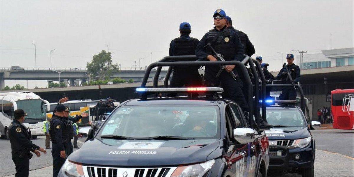 Vigilan 28 mil policías la CDMX por regreso a clases