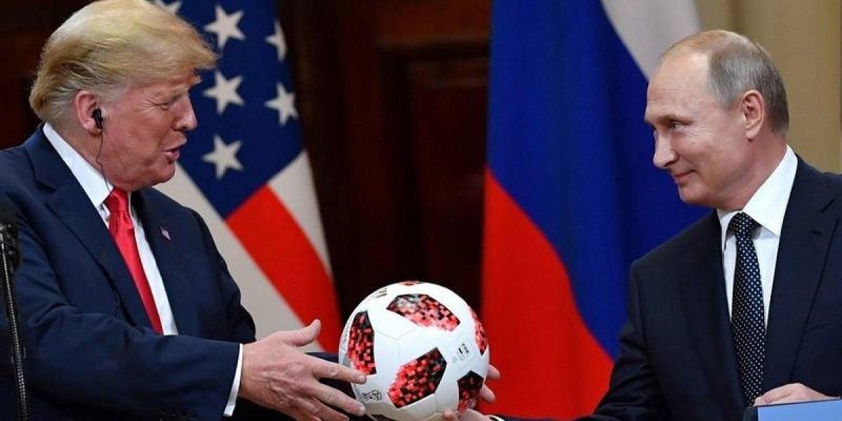 La trama detrás del la pelota que Putin regaló a Trump