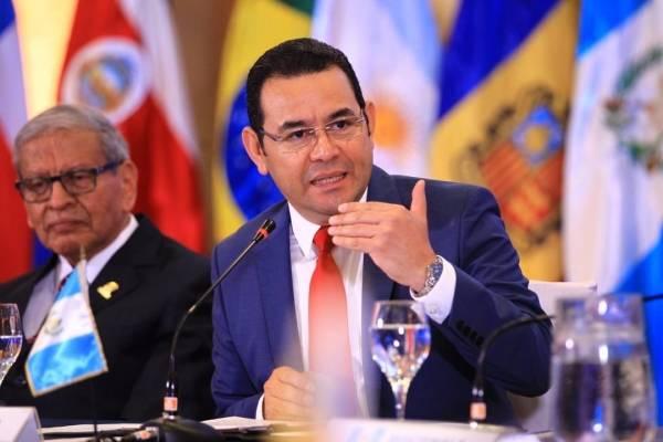 presidente Jimmy Morales en XVIII Conferencia Iberoamericana de ministros de Administración Pública y Reforma Del Estado