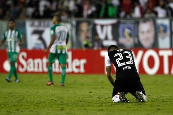 Claudio Baeza puede meter en problemas a Colo Colo / imagen: Photosport