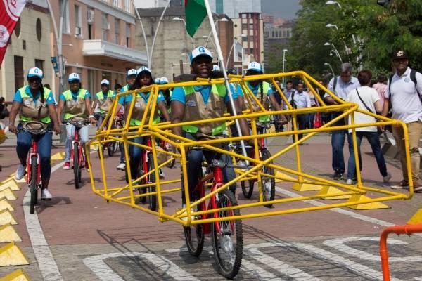 Movilidad en bicicleta Cali