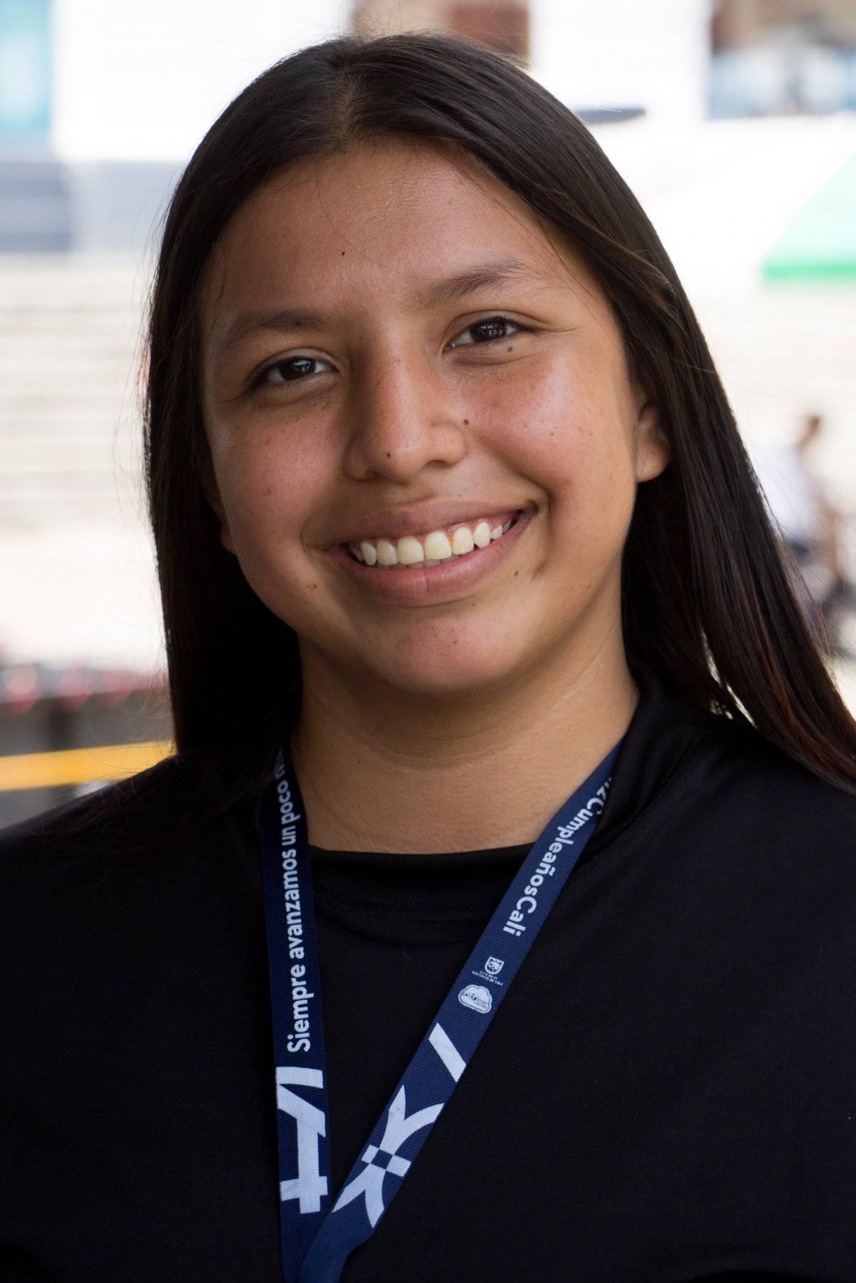 Andrea Guerrero estudiante Cali