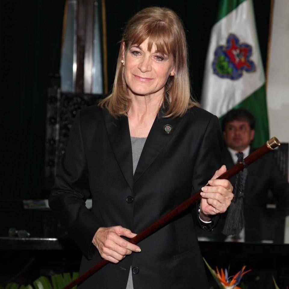 Susana Asensio, alcaldesa de Antigua Guatemala