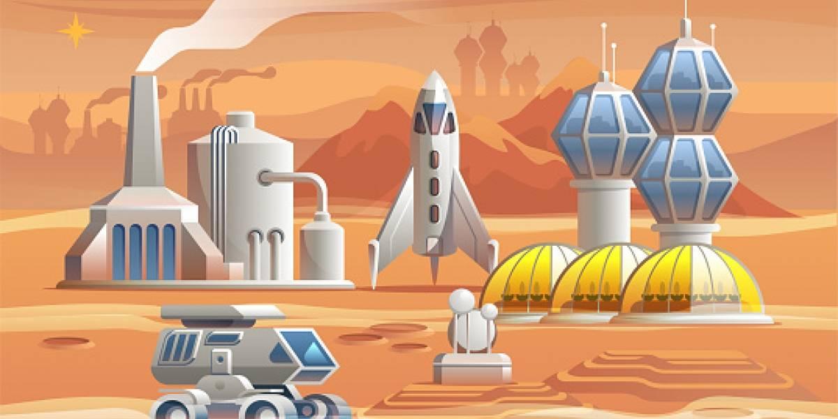 Excrementos y lombrices: cómo cultivar en Marte para que los humanos podamos vivir