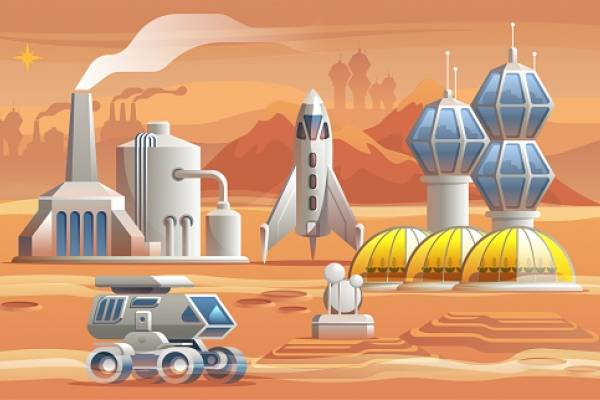 """Lo que llamamos """"suelo"""" marciano es, de hecho, polvo y rocas estériles. Así, de cara a establecer granjas en Marte y cultivar patatas tal y como hizo Matt Damon en """"El marciano"""", en términos científicos, el """"suelo"""" debe contener elementos de materia orgán"""