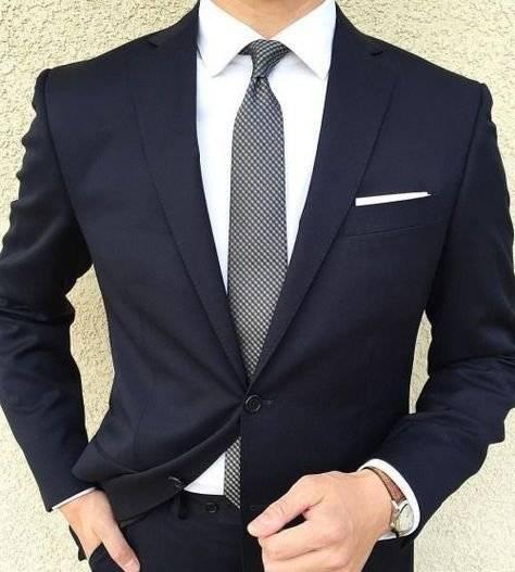 Un traje: la pieza que no debe faltar en el guarda ropa de papá
