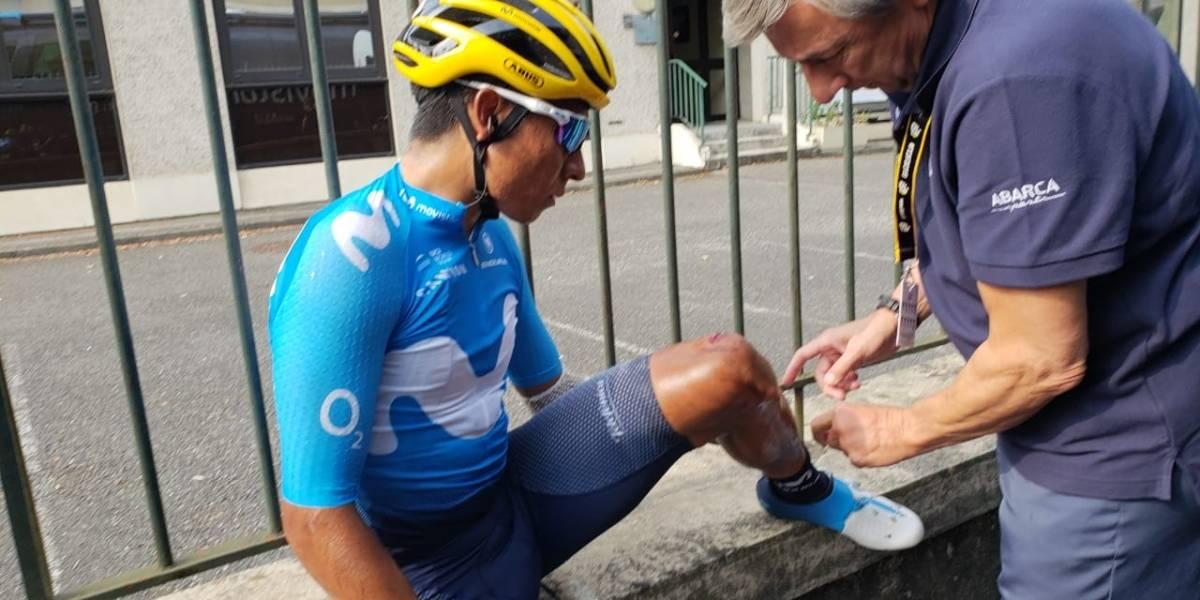 Nairo Quintana pasó el susto y alista el ataque final en el Tour de Francia