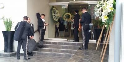 Funeral papá Guillermo del Toro