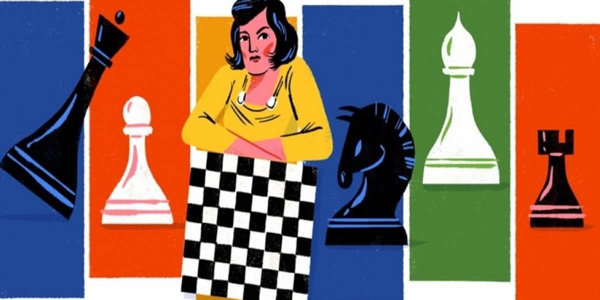 Quién era Lyudmila Rudenko, la ajedrecista y héroe de guerra a la que Google rinde homenaje con un doodle