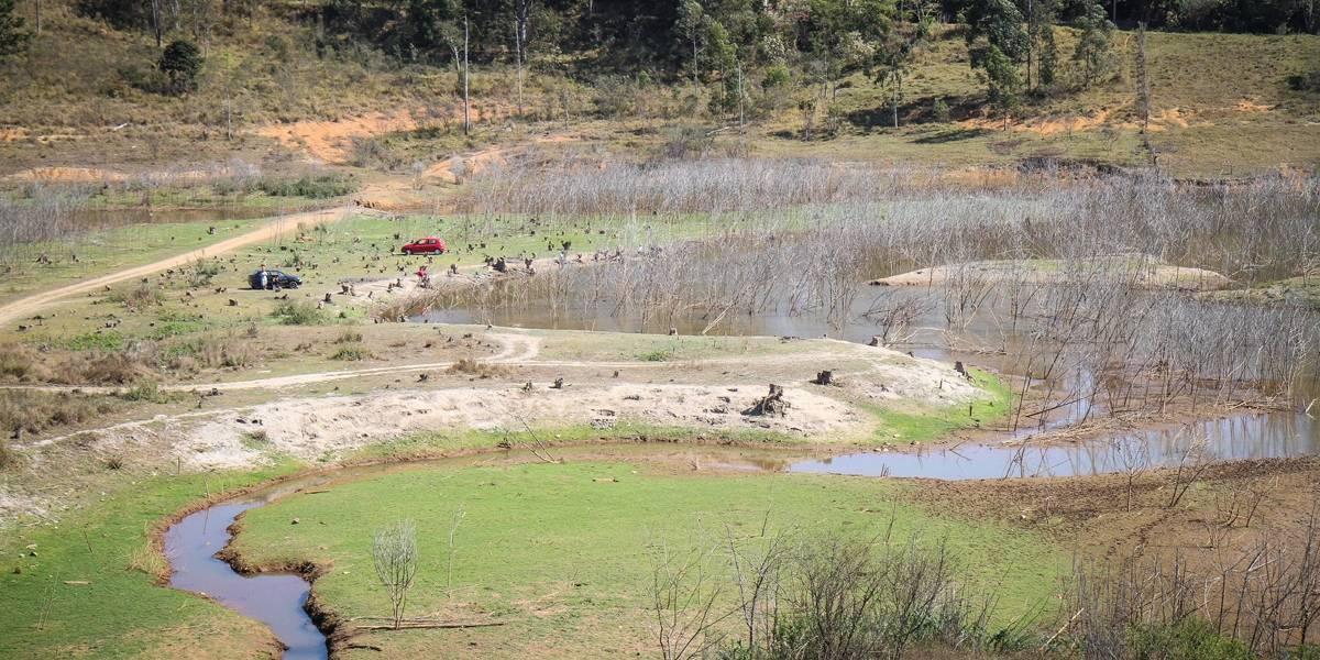 101 dias sem chuva: Cantareira tem menos da metade da reserva