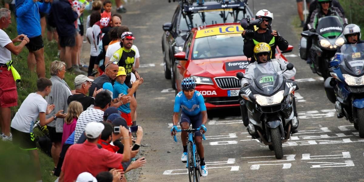 Adiós al sueño amarillo: Nairo Quintana reventó en el Tour de Francia