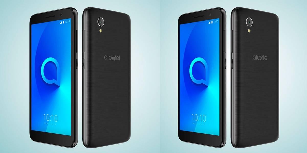Alcatel 1 con Android Go Oreo llega a México con Telcel