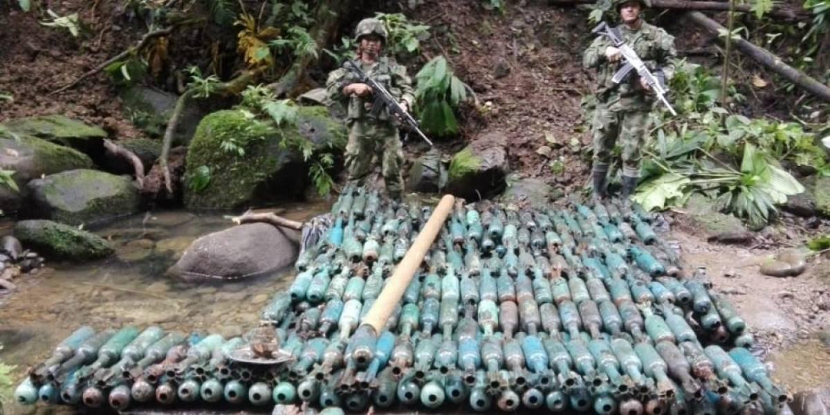 Desmontan depósito de armas con las que 'Guacho' pretendía atacar a militares
