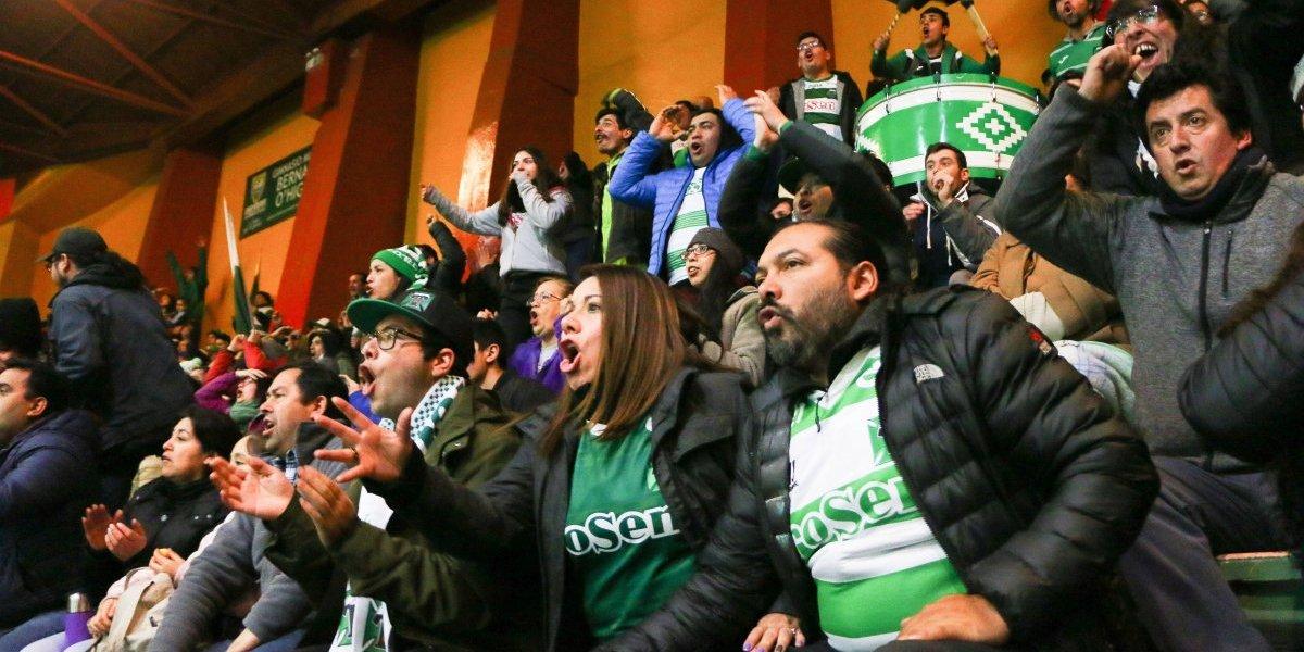 Se volvieron locos: El desenfrenado festejo en Temuco por el histórico triunfo en Copa Sudamericana