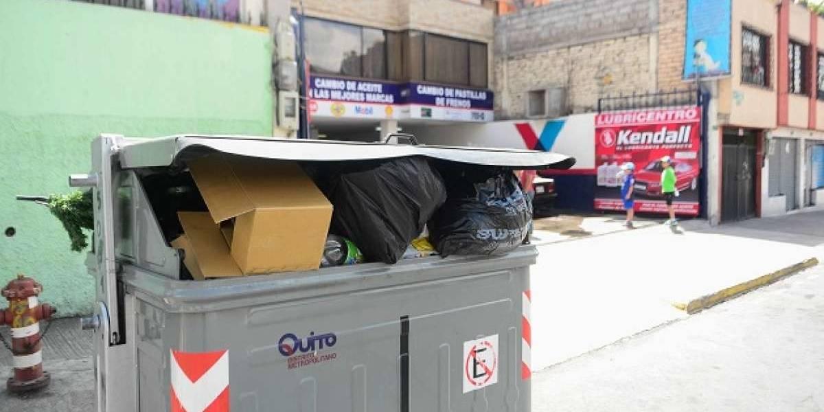 Quito: Cráneo humano fue hallado en un contenedor de basura