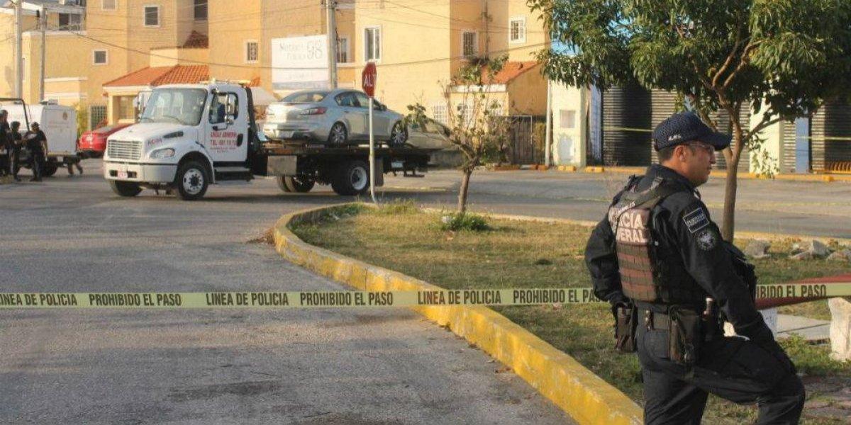 Reportan enfrentamiento entre policías y sicarios en Cancún