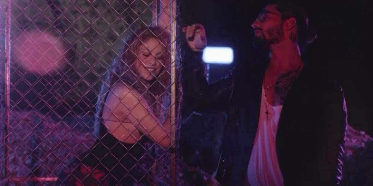 Shakira y Maluma paralizan las redes con sensual video