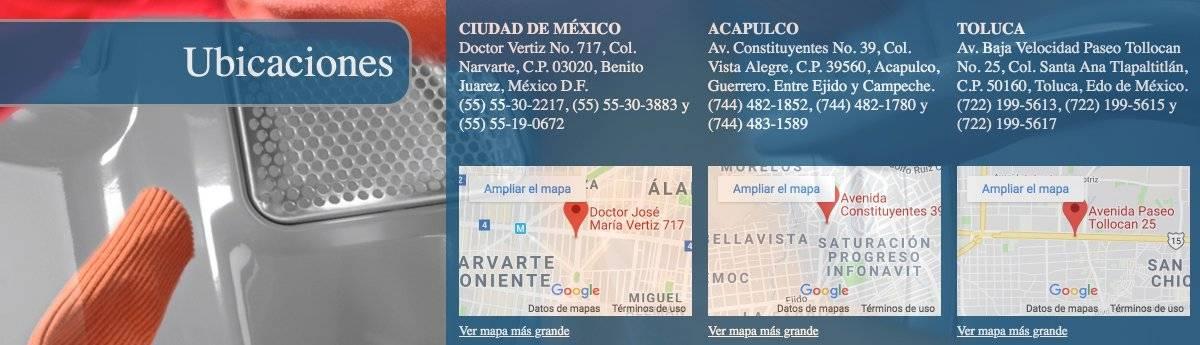 Los técnicos también se encuentran en CDMX y Toluca