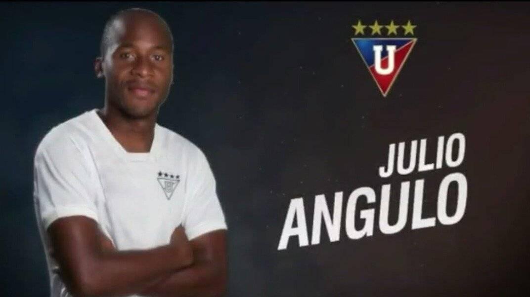 Llegó Cristian Martínez Borja, nuevo delantero de Liga de Quito Cortesía Twitter