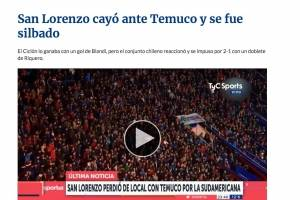 La reacción de Argentina