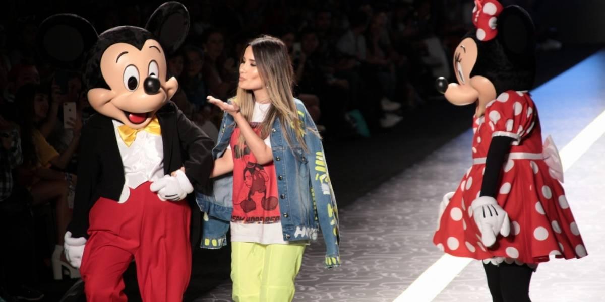 Dieñadora colombiana presenta colección inspirada en Mickey Mouse
