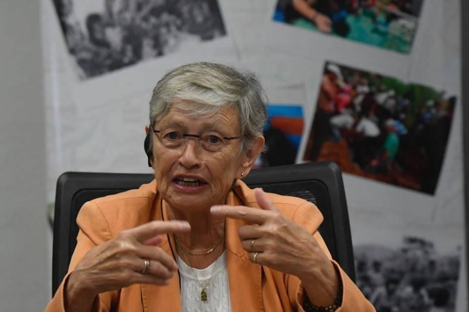 Carol Bellamy, exdirectora del Cuerpo de Paz de EE. UU. Foto: Omar Solís