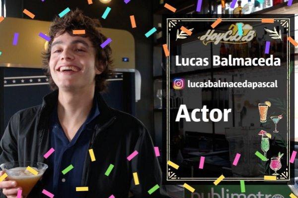 HoyCBB con Lucas Balmaceda, actor de Narcos