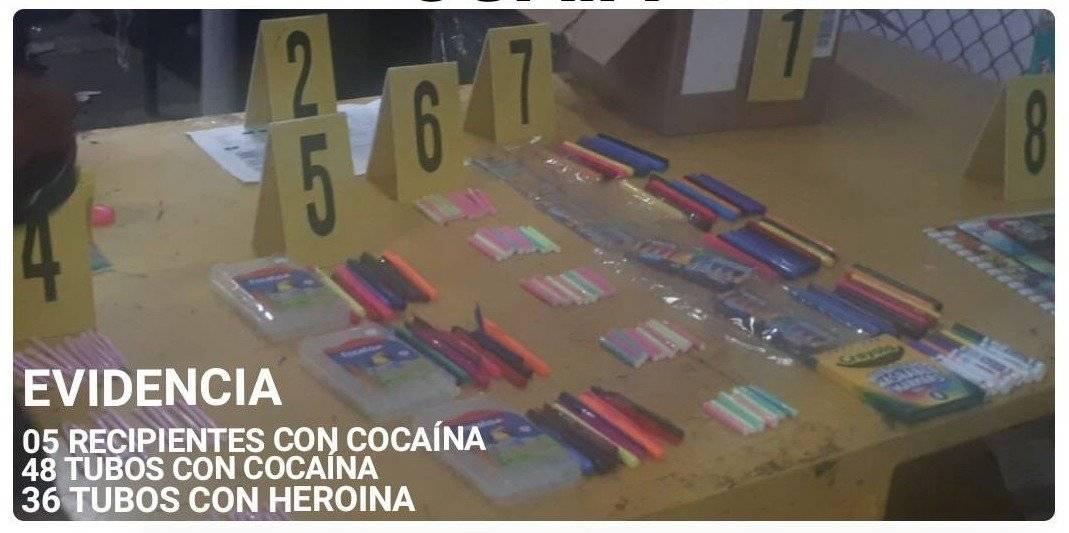 decomisan droga en el aeropuerto La Aurora