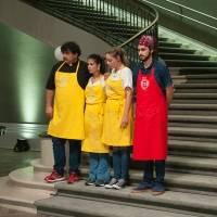 Fazendo brunch, o cozinheiro foi eleito o melhor de sua equipe
