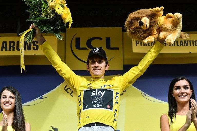Geraint Thomas sigue siendo el líder de la clasificación general del Tour
