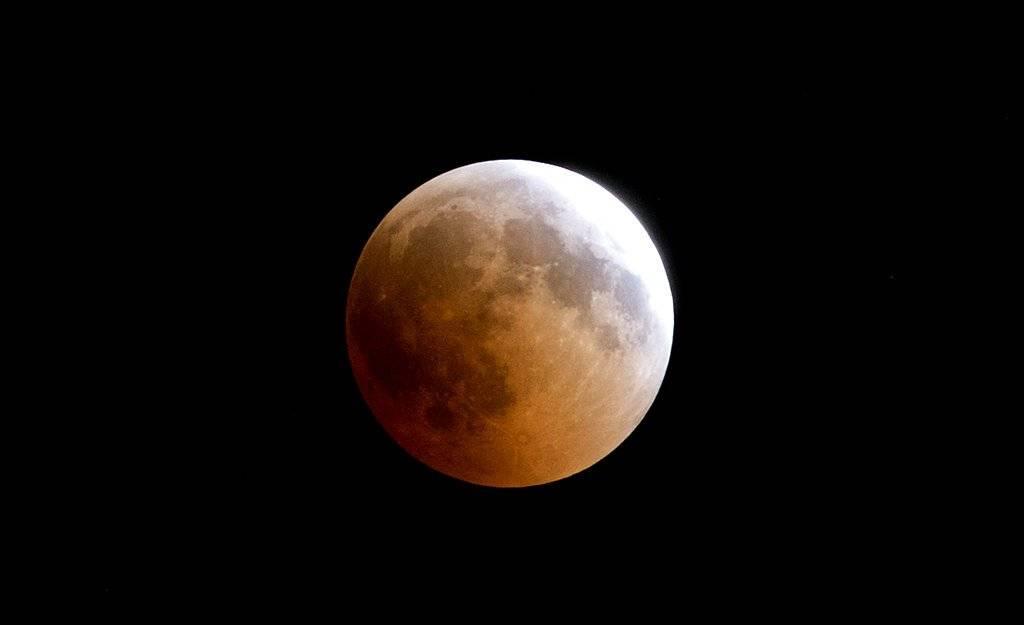 Luna de sangre en Kenia Foto: AFP