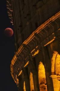 Luna de sangre en Italia