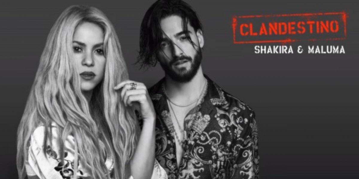 """Shakira y Maluma lanzan su video """"Clandestino"""""""