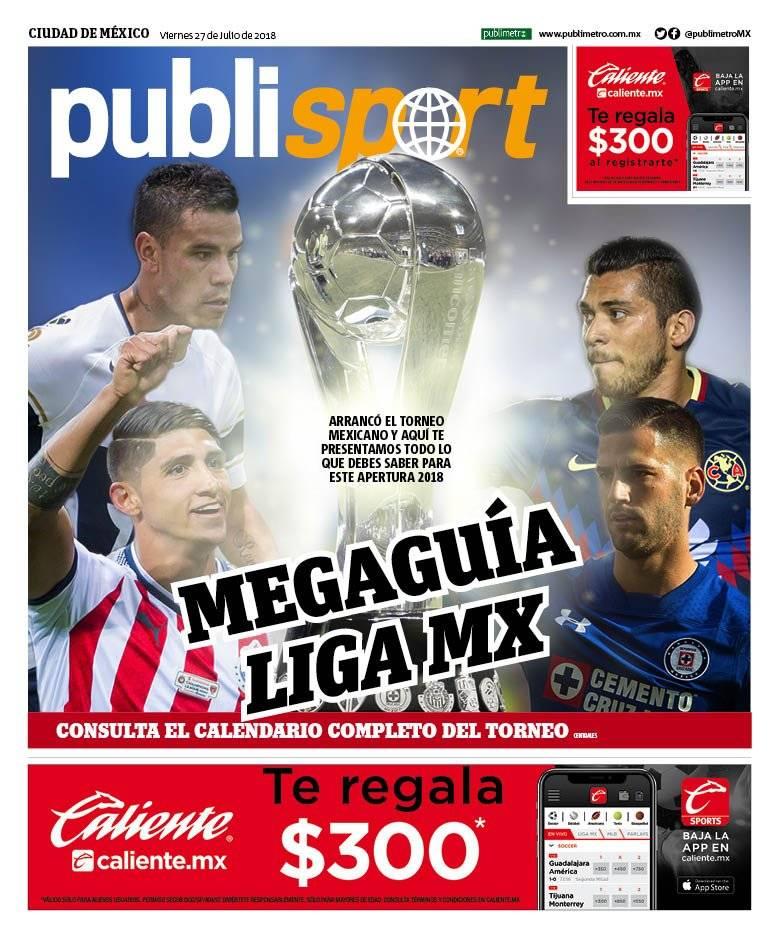 Consulta la edición impresa de la Mega Guía de la Liga MX de publisport