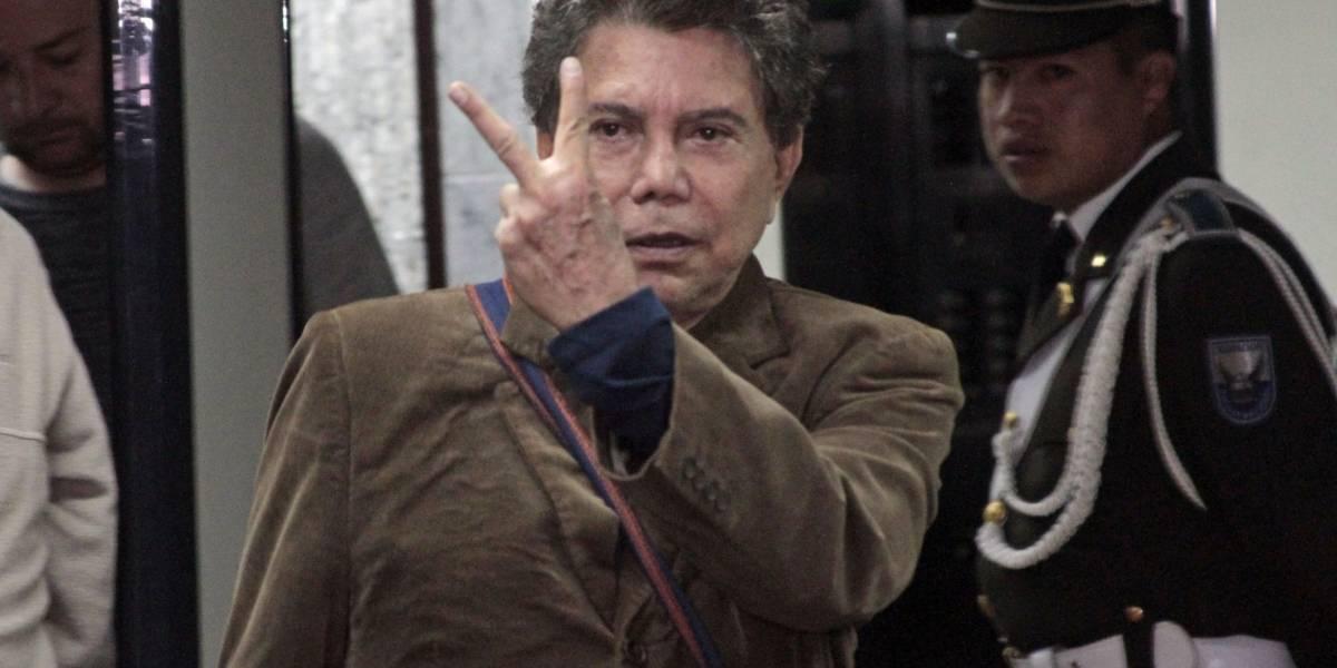 Ricardo Rivera tiene problemas de salud y está hospitalizado en Guayaquil
