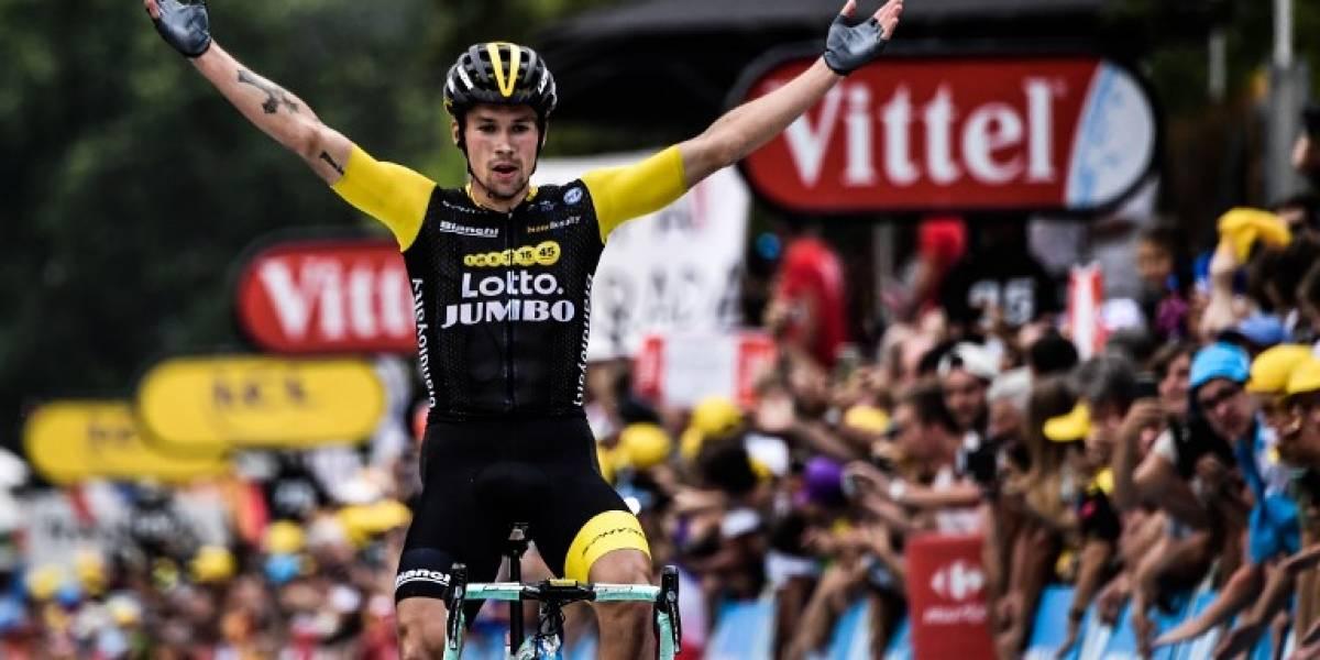 Esloveno Roglic gana la etapa 19 y Thomas se acerca al título